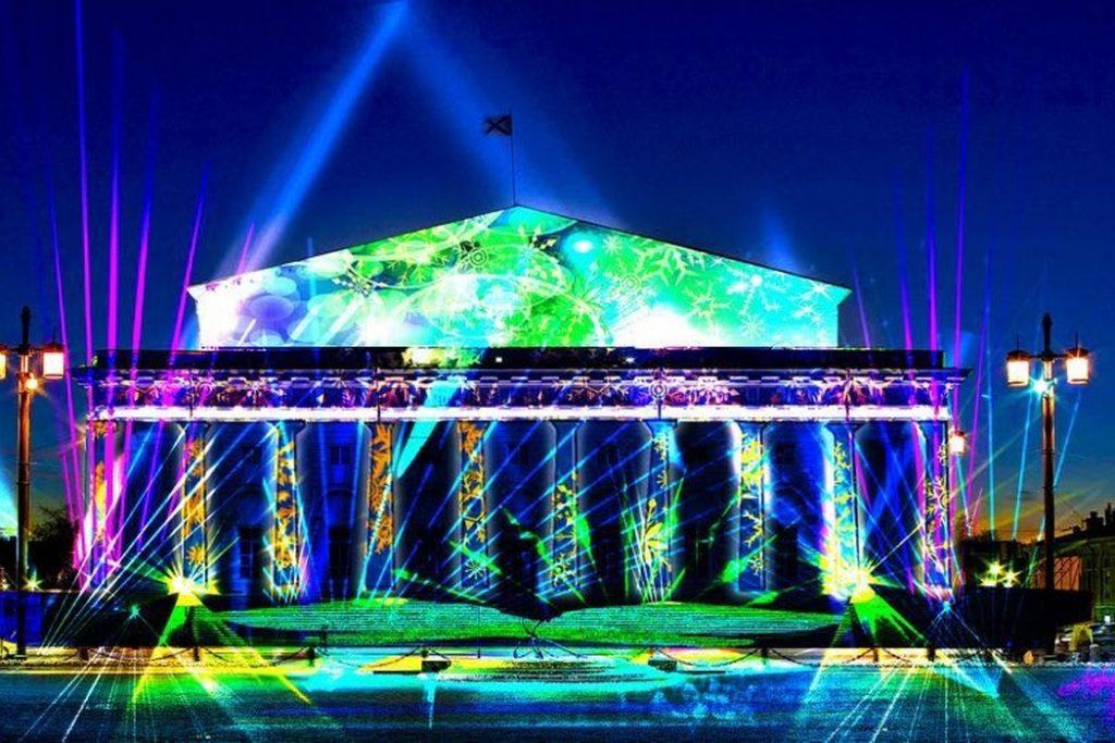 Фестиваль огня «Рождественская звезда» 7 и 8 января в Санкт-Петербурге